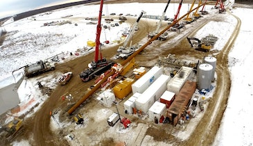 Michels Sets North American HDD Record on Northern Courier Pipeline