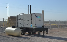 Doosan Portable Power Introduces Natural Gas Generators