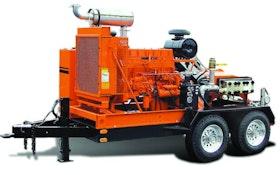 NLB high-pressure waterjet pump unit