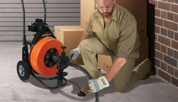 Plumbing Pro Gets Drain Cleaning Jobs Done Right