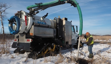 Tracked Hydroexcavators Provide Environmentally Friendly Solution to Customers
