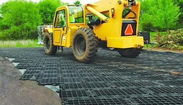 Lightweight Construction Mats for Oil Drilling Regions