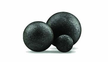 Dissolvable, injection-molded balls meet fracking needs