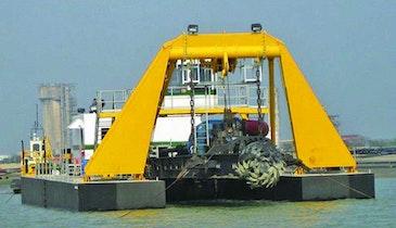 DSC Marlin Class Underwater Mining Dredge an Exceed 200-foot Digging Depths