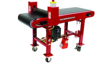 Pneumatically Controlled Wet-Out Table Adds Precision