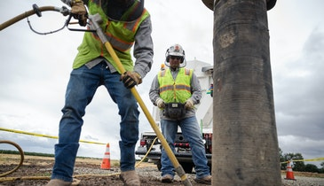 Air-Excavation Trucks Reduce Contractor's Expenses