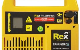 Schonstedt Instrument Rex pipe and cable locator