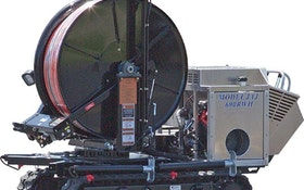 Rental Equipment - Sewer Equipment  JAJ-600 Easement Machine