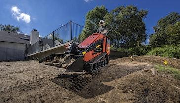 Construction-Grade Mini Skid-Steer Increases ROI