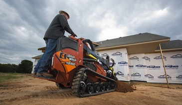 A Powerful Mini Skid-Steer for Unparalleled Production