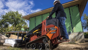 Compact Mini Skid-Steer Delivers Efficient Power in More Maneuverable Package