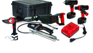 Snap-on cordless tool kit
