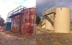 Storage Tank Sandblasting 101