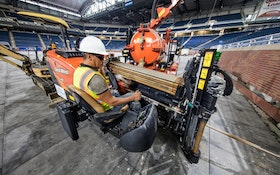 HDD Fleet Meets Tight Deadline for Job at Ford Field