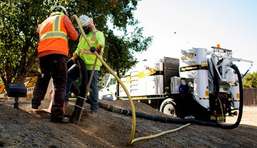 Safety a Priority for Air Excavation Contractor