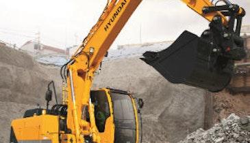 Hyundai Offers New Midsize Excavators