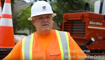 AllTech Gets Support from Ditch Witch Central Texas