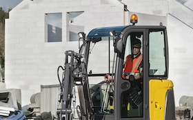 Compact Excavator Packs a Mighty Punch