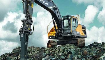 Volvo Tier 4 Final crawler excavators
