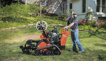 Vibratory Plow Minimizes Disruption on Residential, Utility-Installation Jobs