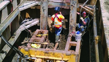 Contractor goes with pipe bursting to replace sewer