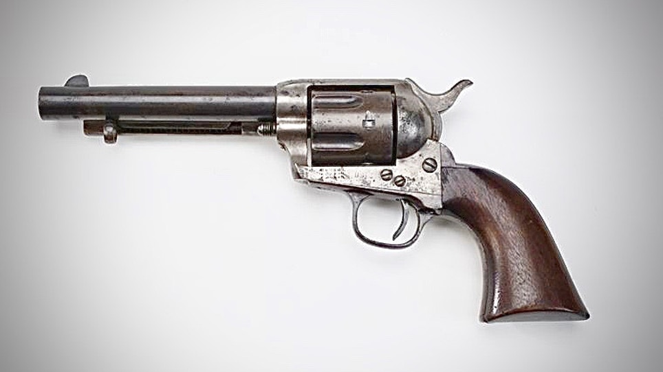 This Colt Single Action Army .45 Helped Take San Juan Hill