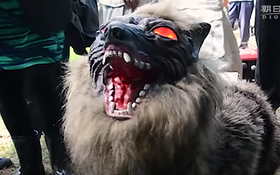 Super Monster Wolf: Japan's answer to farmers' critter problem