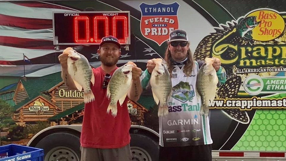 Tournament Anglers Catch Limits of 3-Pound Crappies
