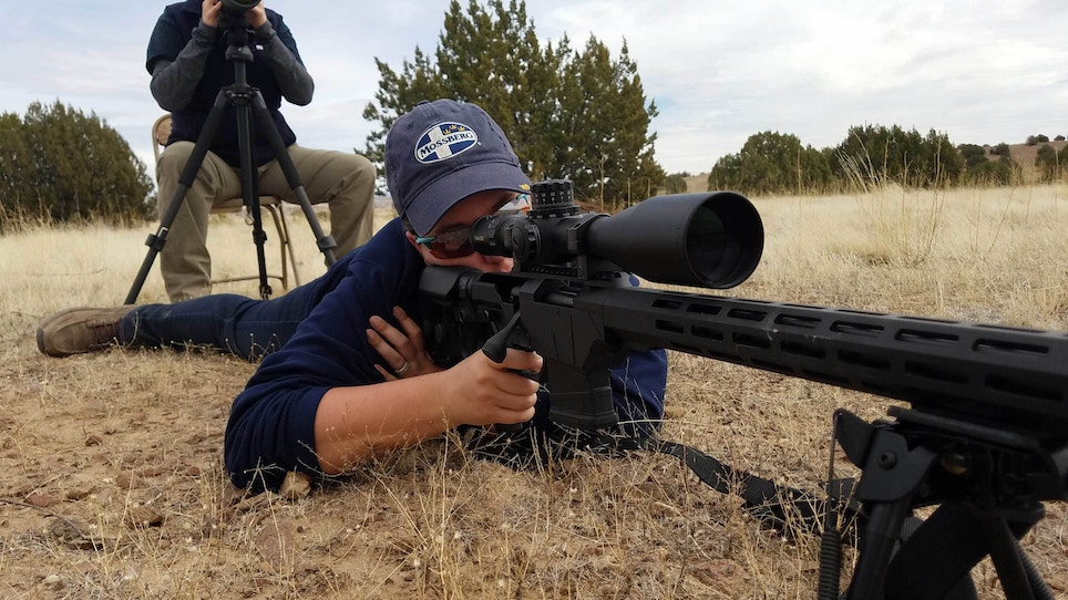How to shoot a rifle from the prone position