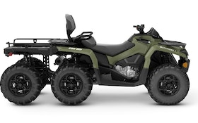 Upgraded for 2019: Can-Am Outlander MAX 6x6