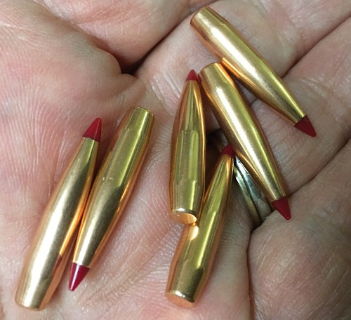 Hornady's taking  a long-range shot at outgunning the .22 Swift with its blistering 22 Creedmoor bullets, with the 75-grain ELD handloads leaving the pipe at 3,200 fps. Add two grains of powder and velocity increases to 3,400 fps. (Photo: L.P. Brezny)