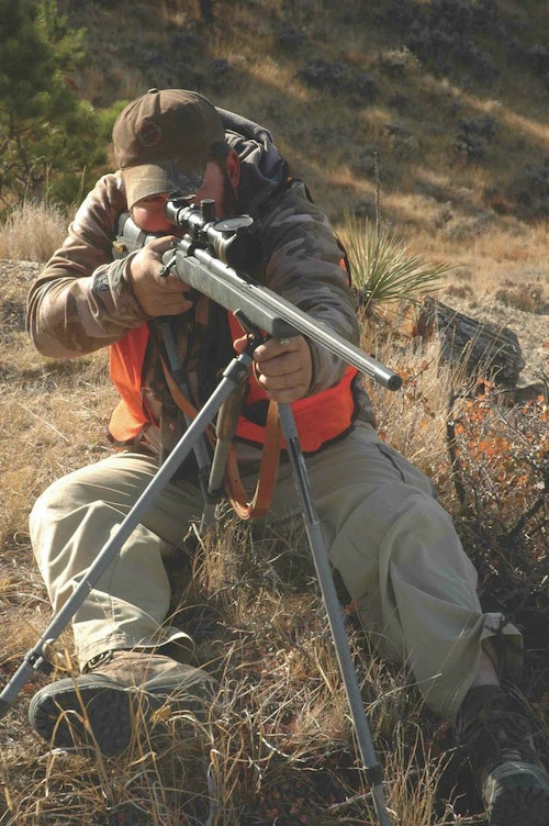 Heavy barrels, target stocks, powerful scopes add reach — given good marksmanship and solid support.