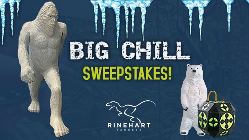 Rinehart Targets Big Chill Sweepstakes: Win a 7-Foot Snowman!