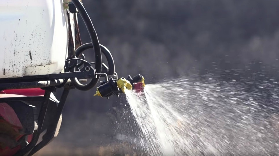 A Simple Solution to Calculating ATV Sprayer Rates