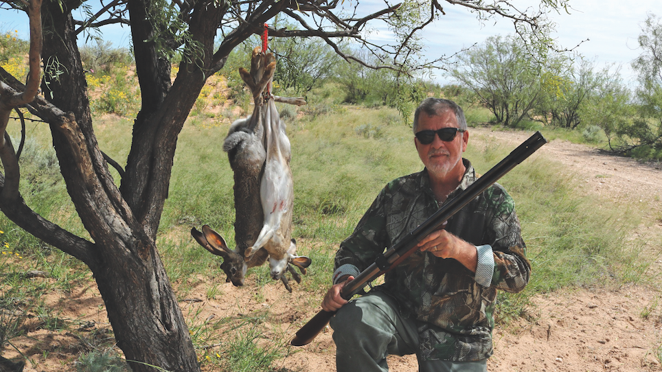 Small Game Hunting With an Air-powered, Double-barrel Shotgun