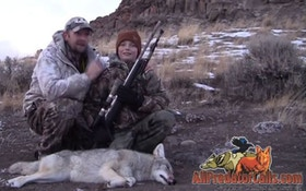 VIDEO: 9-Year-Old Shoots First Coyote