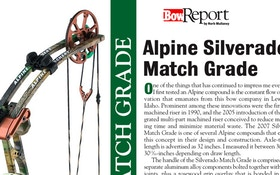 Bow Report: Alpine Silverado Match Grade