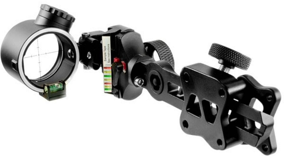 Apex Gear Covert Pro Bow Sight with Detachable Mounting Bracket