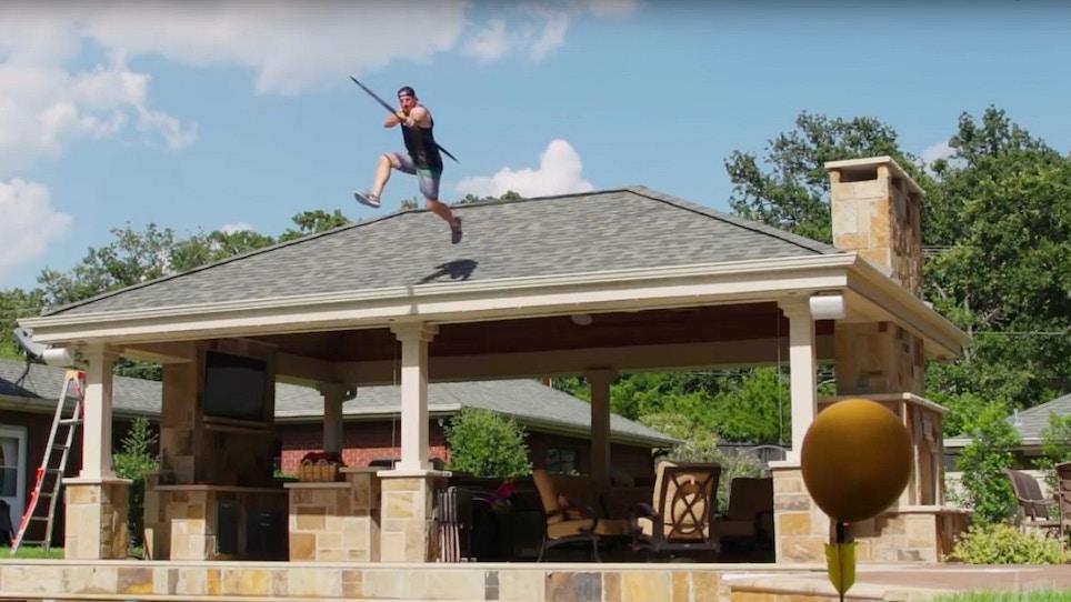 New Dude Perfect Video: Archery Trick Shots 2