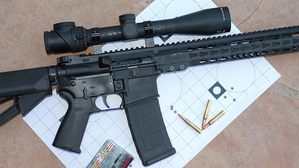 Review: Armalite M15TAC16
