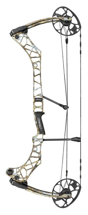 The new Mathews Atlas is designed specifically for bowhunters with long draw lengths (29.5 to 34 inches).