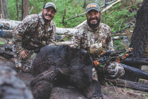 The end result is worth all of the effort when the ultimate prize is at hand — a spot-and-stalk spring black bear.