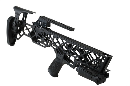 The X-16 base model package includes the crossbow (aluminum or carbon fiber), quiver, three arrows, cocking rope and a custom-fitted case.