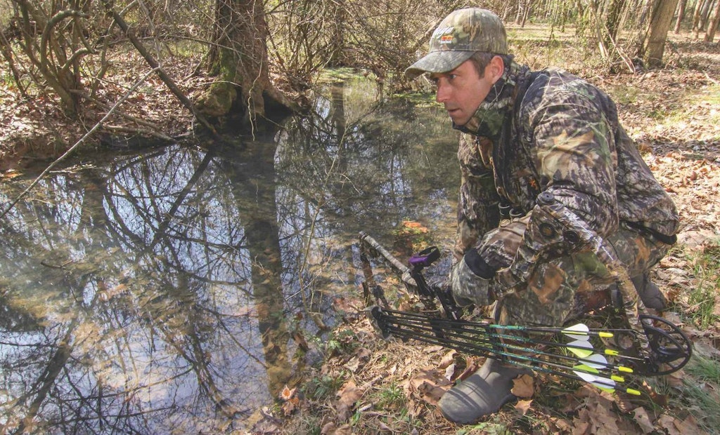 How to Lure Whitetail Deer With Water