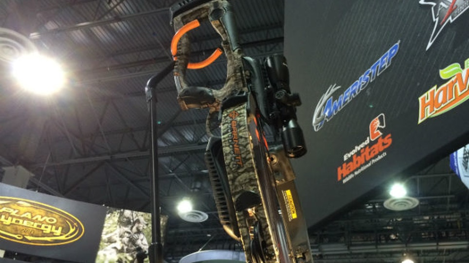 Barnett's New Reverse Draw Crossbow Rig Raises Eyebrows