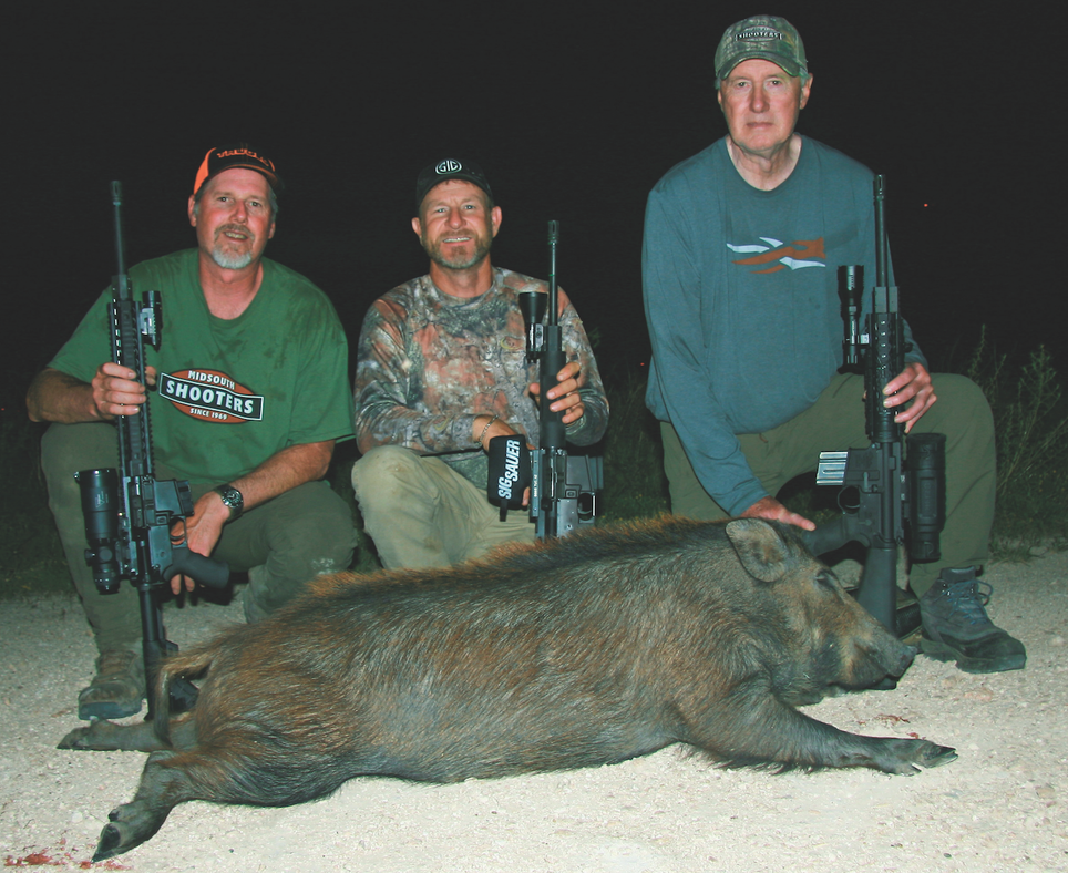 Best AR Ammo for Hunting Hogs at Night