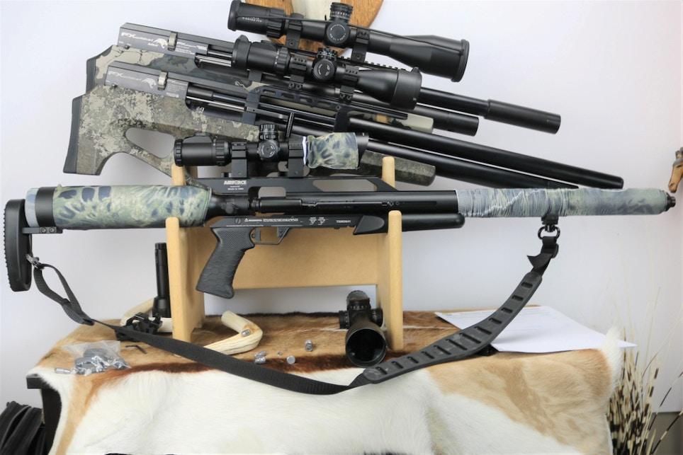 Hunting with Home Grown Big-Bore Airguns