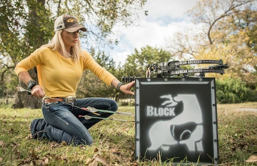Your expensive 3D targets will last longer if you limit broadhead practice to tough and durable targets such as the four-sided Block Vault.