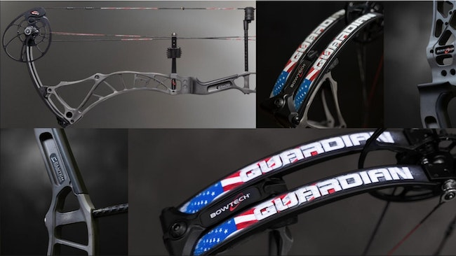 Limited-Edition Patriot-Themed Bowtech Guardian
