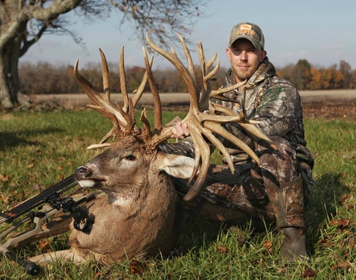 "Sure to be known forever more as ""The Brewster Buck,"" it was shot in eastern Illinois, specifically Edgar County. Luke Brewster arrowed the giant on Nov. 2, 2018."